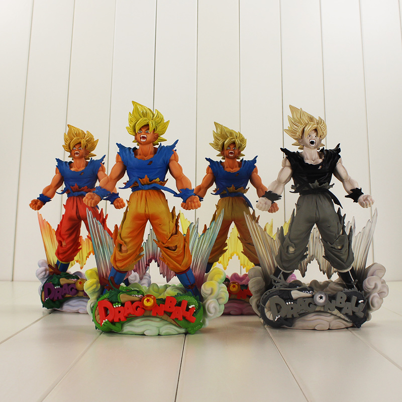 24cm Dragon Ball Goku Figure Toy MSP Mater Star Piece Son Goku The Brush Dragon Ball Z Model Doll