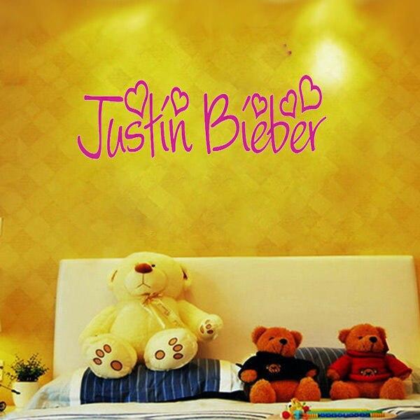Funky Justin Bieber Wall Art Vignette - Wall Art and Decor Ideas ...
