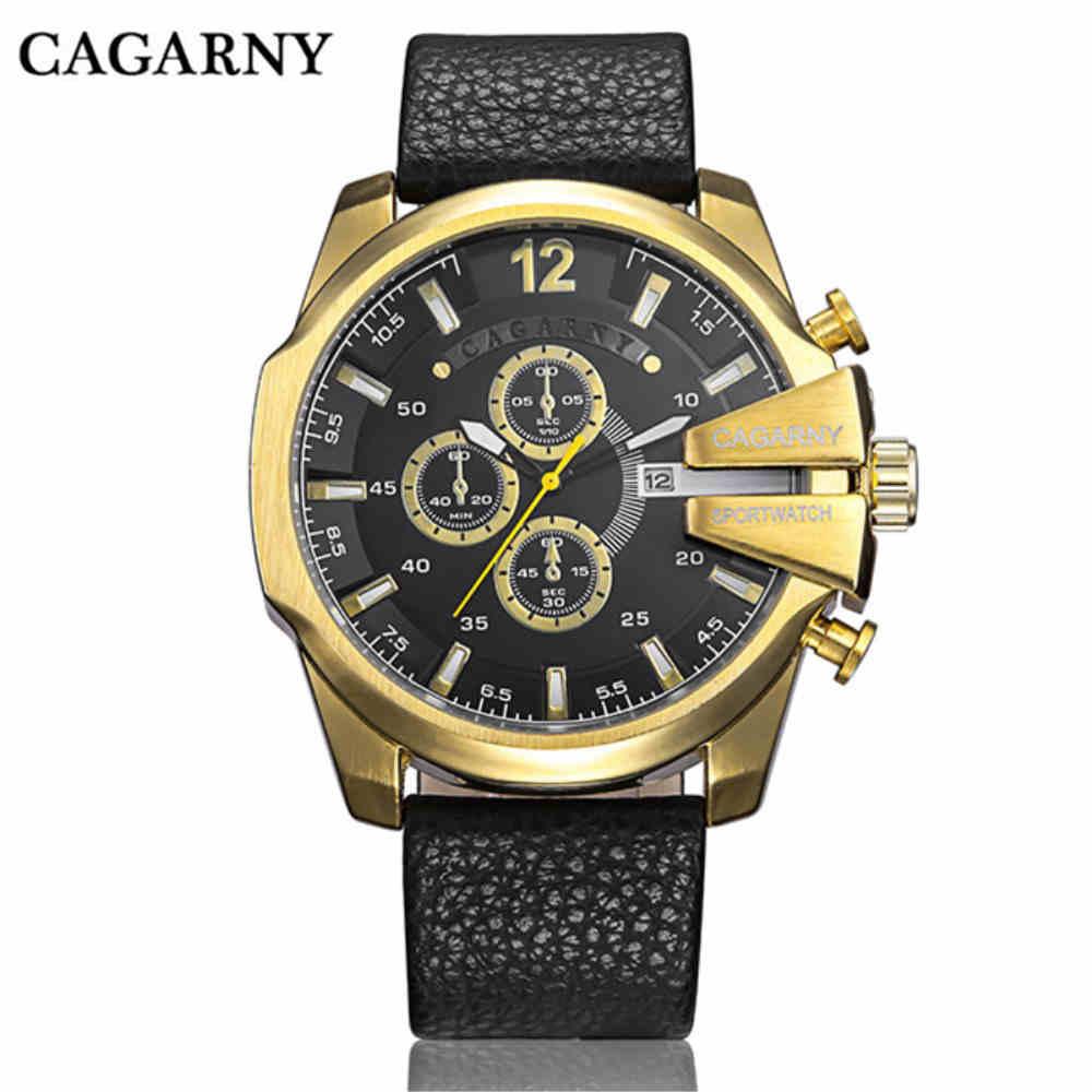 CAGARNY órák férfi luxus márka nagy tárcsázás sportóra - Férfi órák - Fénykép 2