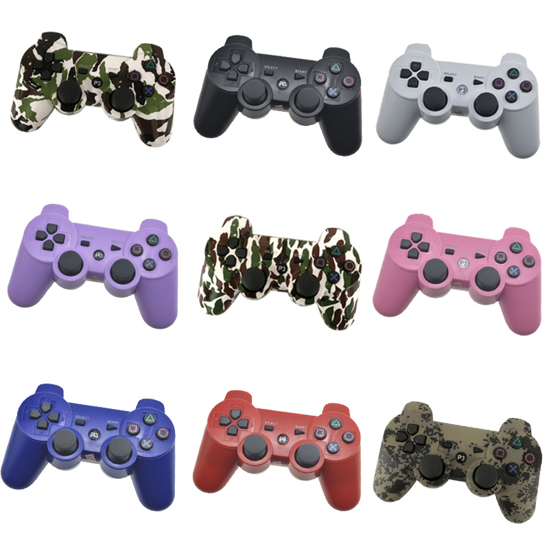 For SONY PS3 Controller Bluetooth Gamepad for Play Station 3 Joystick Wireless Console for Dualshock 3 SIXAXIS Controle sixaxis blueloong 2pcs red and blue color wireless bluetooth joystick gamepad for dualshock 3 playstation 3 ps3 controller