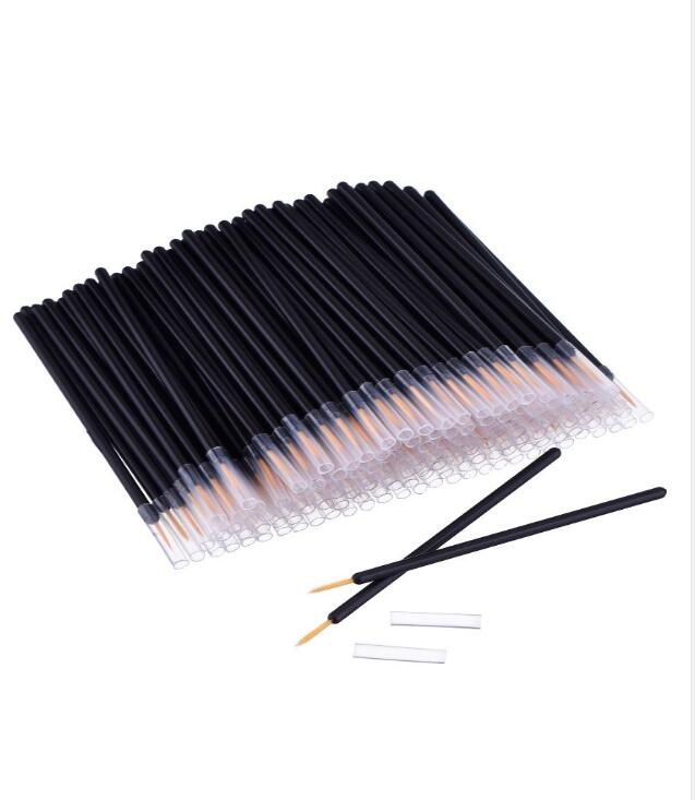 Hot Makeup Brush Disposable Eyeliner Wand Applicator Cosmetics Maquiagem Eye Liner Professional Brush Man made fiber