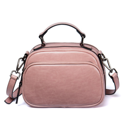 women summer small genuine leather one shoulder bag girl cowhide pink black brown crossbody bag female causal messenger bag