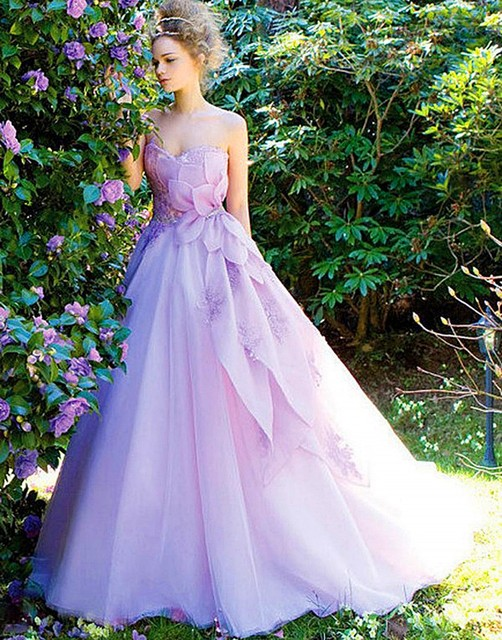2016 modern women dress dress weddingdress organza marriage bridal 2016 modern women dress dress weddingdress organza marriage bridal gown lavender purple wedding dresses junglespirit Images