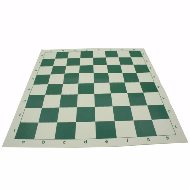 Man Made Leather Pvc Portable Durable Chess Roll Up Chessboard Set