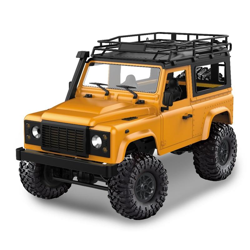 MN modelo D90 1:12 escala RC Crawler coche 2,4G 4WD camión de Control remoto juguetes de montar Kit de MN-90K MN-91K defensor camioneta
