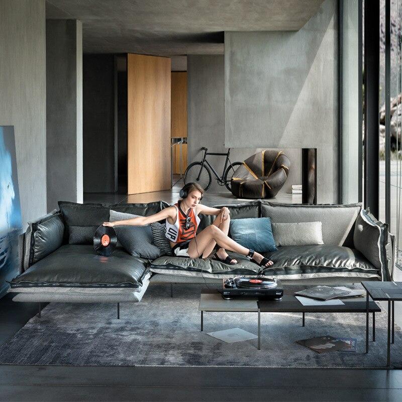 Cahaya Mewah Microfiber Kulit Sofa Beludru Bawah Ruang Tamu Modern Minimalis Sudut Sofa Aliexpress