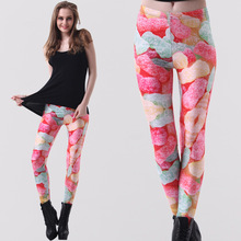 Hot New Women Leggings Digital Sky Color fudge printed Leggings nine pants legin calcas capris gaiter boothose wholesale