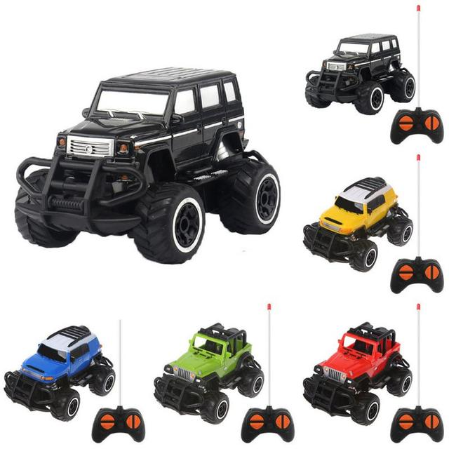 1:43 RC Car 4WD 2.4GHz Climbing Car Remote Control Car Off-road 4 Channel Electric Model Toy Remote Control Toy