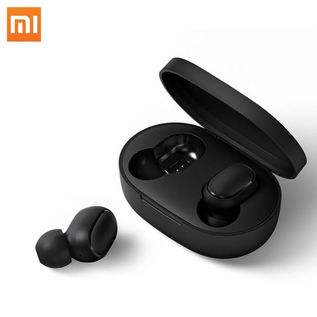 Original Xiaomi Redmi AirDots TWS Mini Wireless In Ear Bluetooth Earphone with Charging Case earpods
