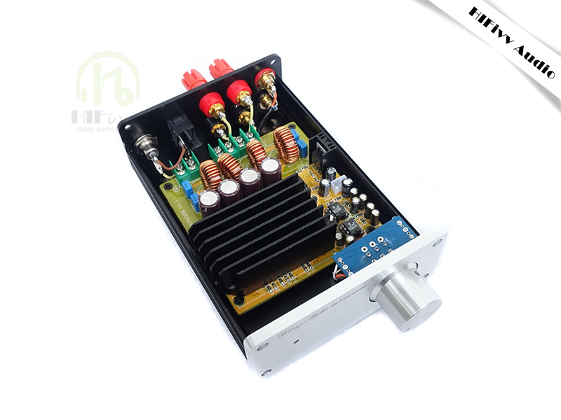 Hifivv audio TAS5630 2.0 sound digital power amplifier Finished circuit board 300W*2 ad827 pre-amplifier tas5630 amplifier class d board high power finished boards mono 600w for subwoofer or full range diy free shipping