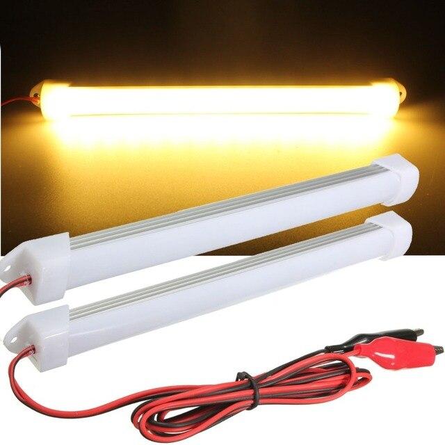One pair led interior light for car bar tube light strip lamp truck one pair led interior light for car bar tube light strip lamp truck van boat caravan aloadofball Gallery