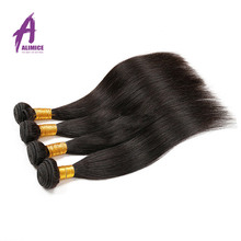 2016 Brazilian Virgin Hair Straight Brazilian Straight Hair Weave Cheap 100% Human Hair Virgin Unprocessed Brazilian Hair(China (Mainland))
