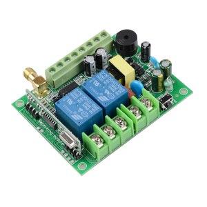 Image 4 - 220 فولت 10A 2CH موتور التحكم عن بعد التبديل المحرك إلى الأمام عكس حتى أسفل وقف الباب نافذة الستار اللاسلكية TX RX مفتاح محدود