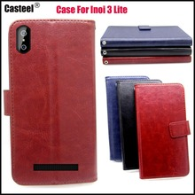 Casteel Classic Flight Series high quality PU skin leather case For INOI 3 Lite inoi power Case Cover Shield