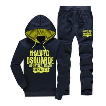 2019 FashionTracksuit Men's Hoodie Men Casual Active Suit Zipper Outwear Jacket+Pants Sets+Warm Down Vest Jacket Three piece set 1