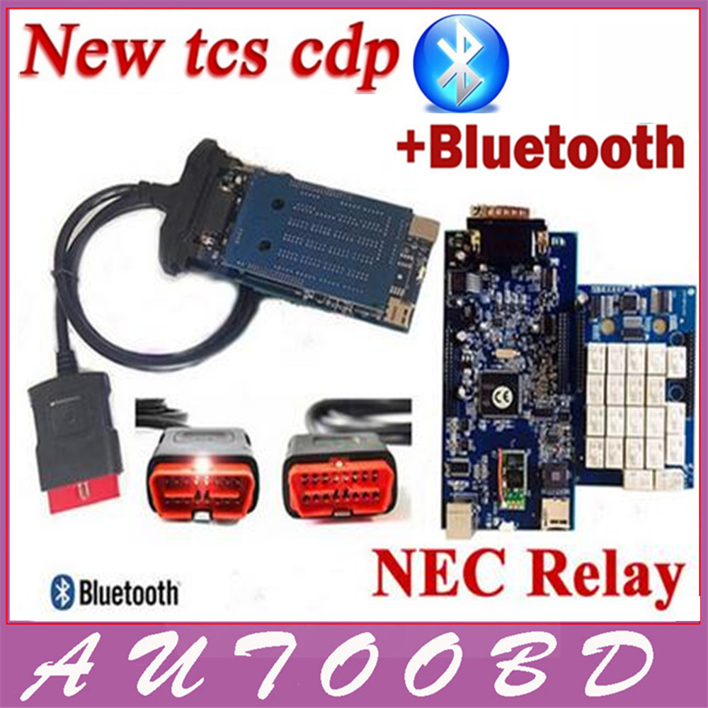 New Released 2014 R2 TCS CDP Bluetooth With NEC Relay Chip For Cars Trucks Multibrand Vehicles
