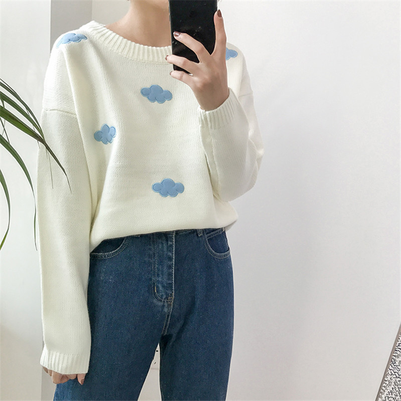 19 Women Sweaters And Pullovers Long sleeve Knitted Women's Sweater Female Winter V Neck Jumper Sueter Mujer Pull Femme 8