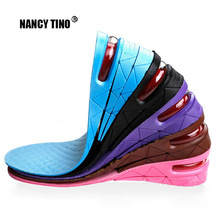 3-9cm Height Increase Insole Cushion Lift Adjustable Cut Shoe Heel Insert Taller Women Men Unisex Quality Foot Pads Sport