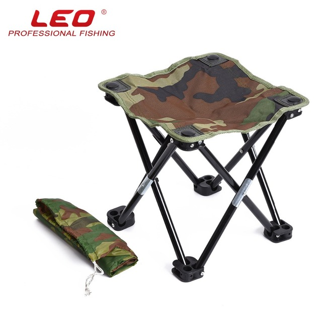 Fine Us 57 8 2018 Hot Sale Leo Shrink Folding Chair Stool Leisure Fishing Portable Foldable Chairs 26048 Black Striped Army Green Camouflage In Fishing Squirreltailoven Fun Painted Chair Ideas Images Squirreltailovenorg