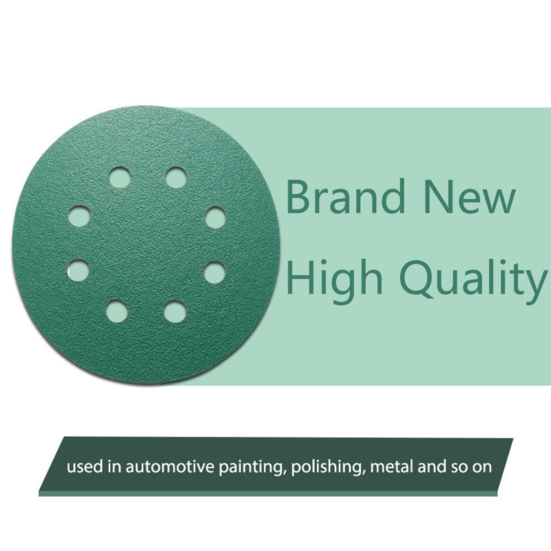 150mm Wet and Dry Sanding Discs 6in Hook and Loop 15 Hole Waterproof 6 Sandpaper 40-3000 Grit 10, Grit 800