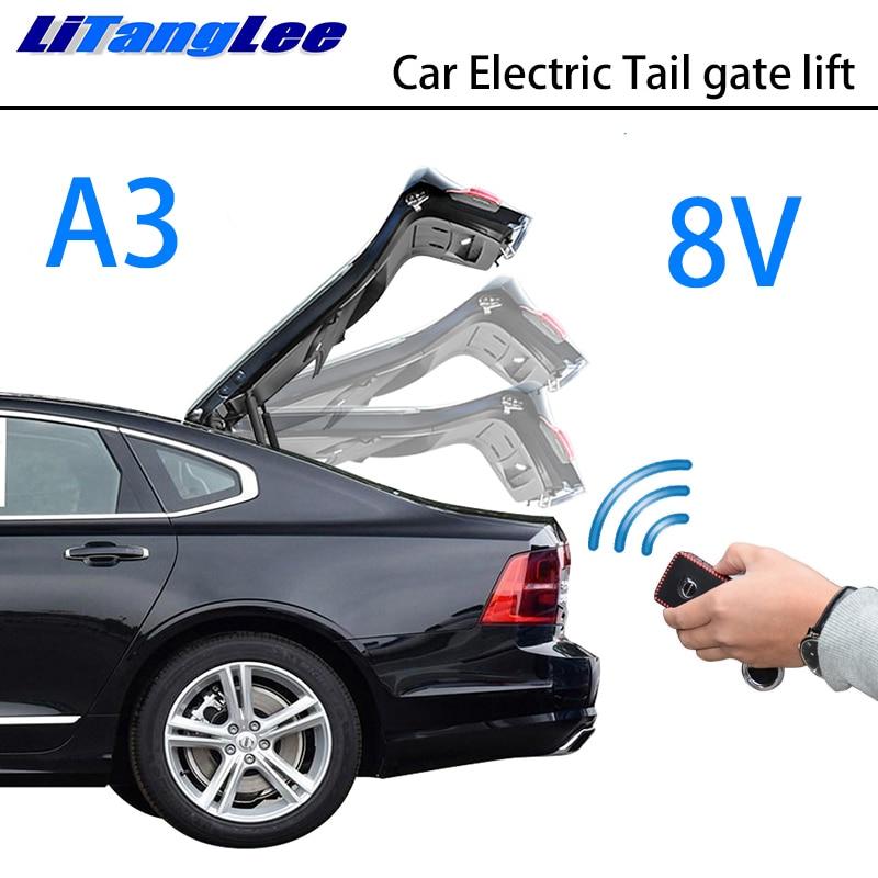 LiTangLee Car Electric Tail Gate Lift Trunk Rear Door Assist System For Audi A3 8V Sedan 2013~2019 Original Key Remote Control