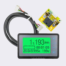DC8-80V 50A Battery Coulometer TK15 Professional Precision Battery Tester for LiFePo Coulomb Counter 12 72v 500a capacity tester indicator tf03k large sceen professional coulometer battery meter for rv electric car