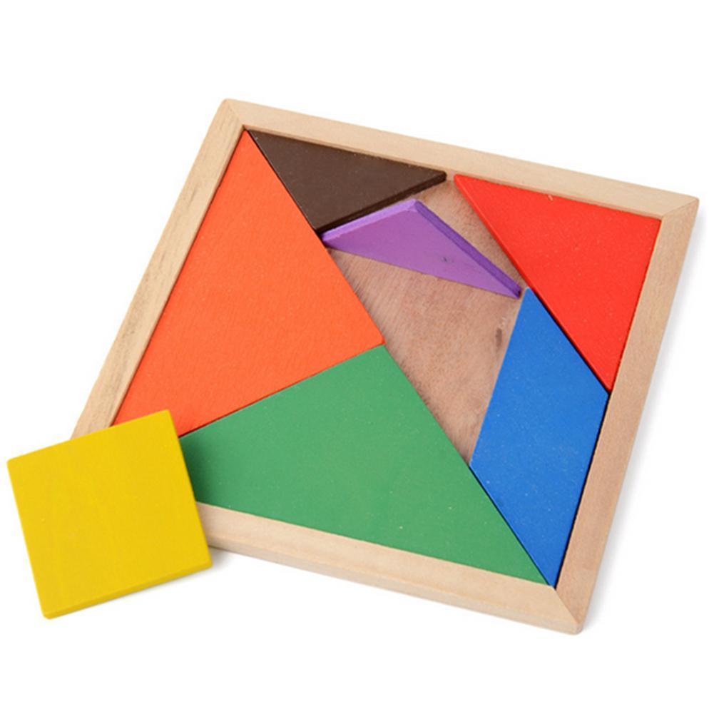 7 Piece Tangram Square Solution