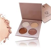 MISS ROSE Brand Face GLOW KIT Matte Shimmer Powder Contour Palette Makeup Minerals Bronzer Highlighter Cosmetics