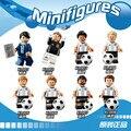 Super estrella Del equipo de Fútbol árbitro de Bloques de Construcción Figuras juguetes Para Niños de Regalo para los niños