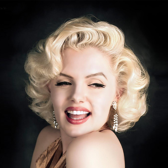 Marilyn Monroe Blonde Perruque Synthétique