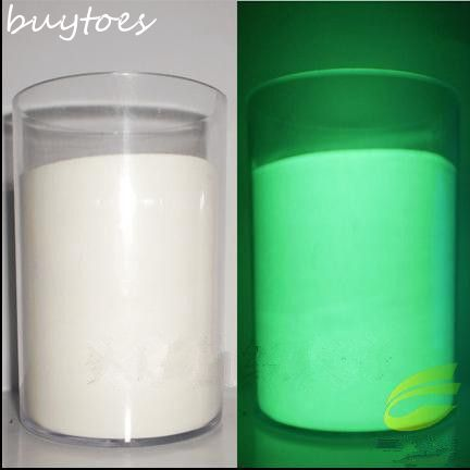 1 1kg super bright White color Luminous powder Glow Powder Paint Glow Green light phosphor powder