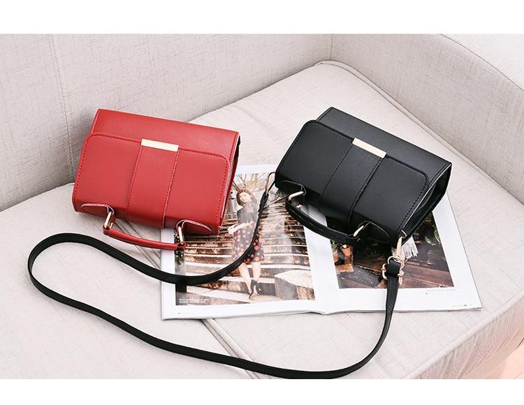 Women Bag Leather Handbags PU Shoulder Bag Small Flap Crossbody Bags for Women Messenger Bags 20