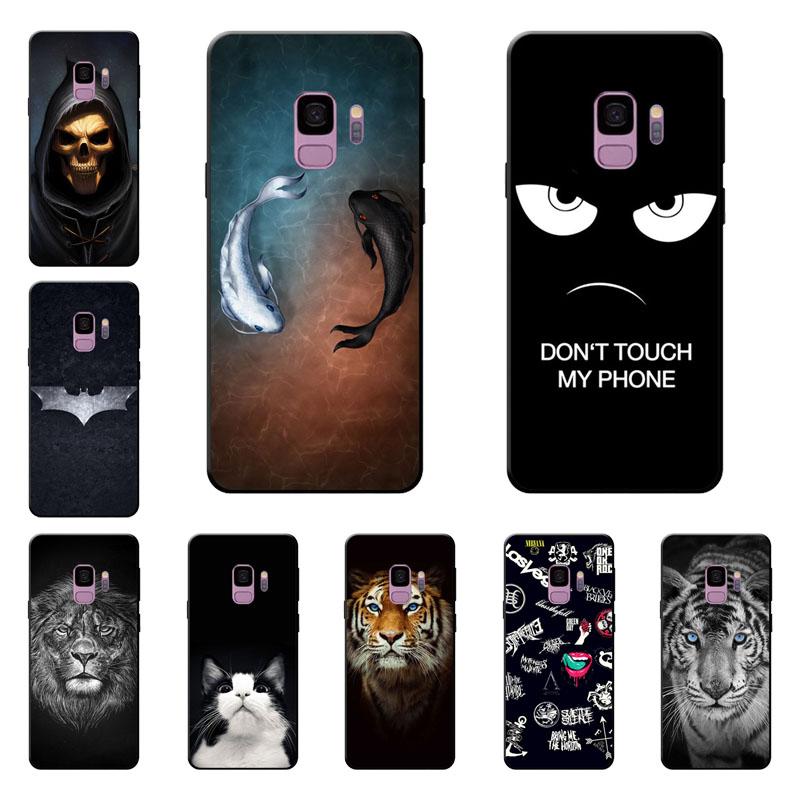 For Samsung Galaxy A5 2018 case,silicon Gossip fish Painting TPU Back Cover for Samsung Galaxy A5 2018 protect Phone shell