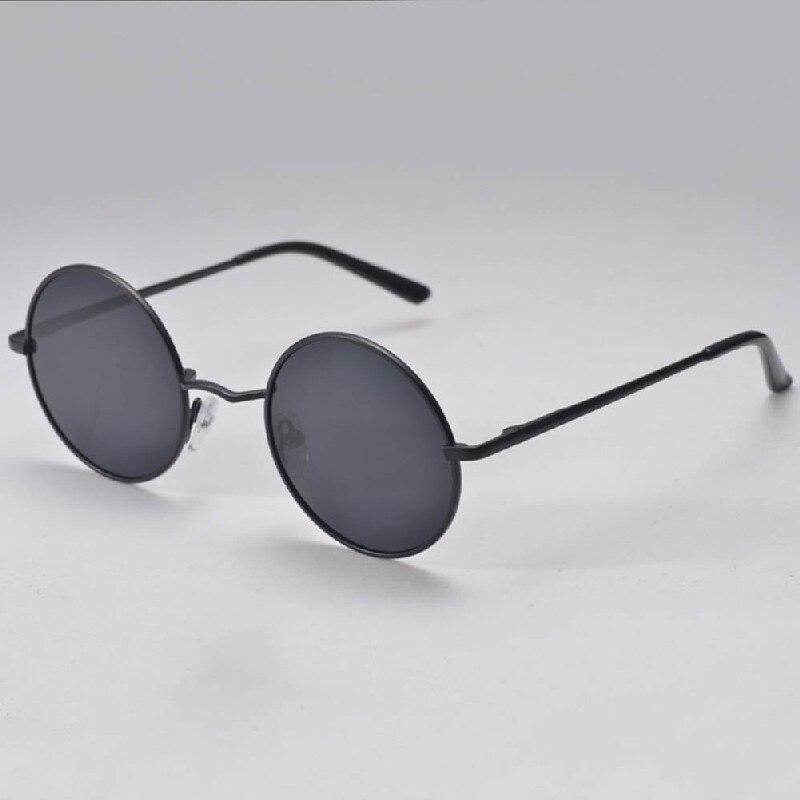 d73ef507b234c4 2017 Hippie Femmes Hommes HD lunettes de Soleil Rétro Ronde Lentille  Métallique Réfléchissante Miroir Lunettes de Soleil Oculos De Sol Feminino  Masculino