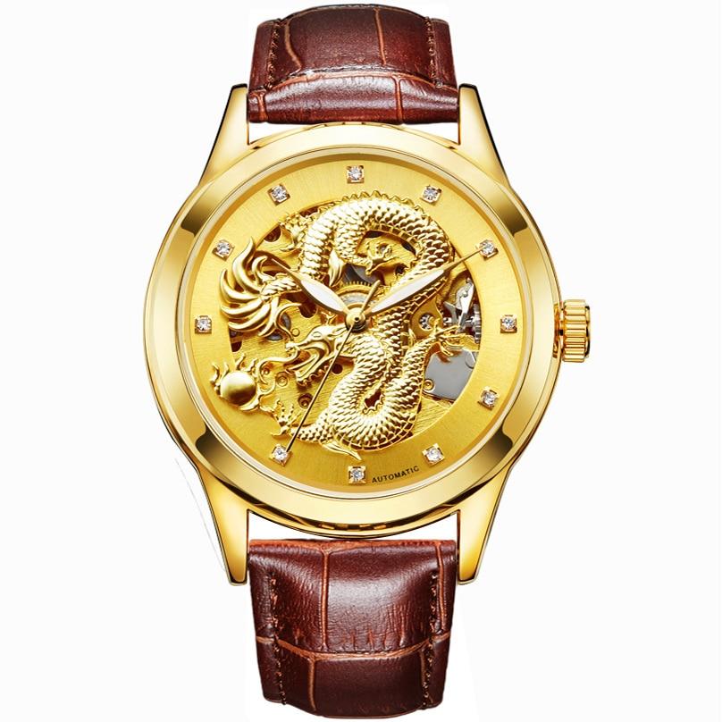 Роскошные Мужские Дракон Резные - Мужские часы
