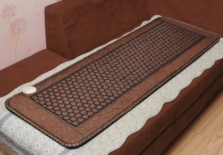 Free shipping Tourmaline Stone germanium health mattress Far Infrared Heated Sofa Mattress 50cmX150cm pop relax tourmaline health products prostate massager for men pain relief 3 balls germanium stone far infrared therapy heater
