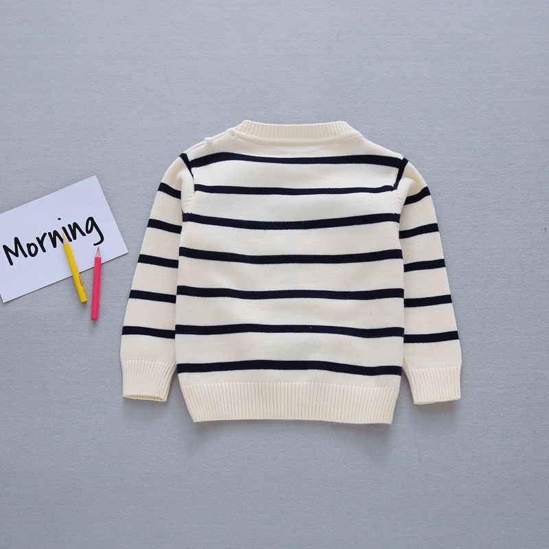 Autumn-Preppy-Chic-Girls-Boys-Kids-Baby-Infants-Long-Sleeve-Letter-Strip-Tower-Outwear-Pullover-Knitwear-Sweater-Camisola-MT1276-5