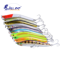 ILure Pencil Sea Curls Bait Spanish Mackerel 25g 82mm Vmc Hook Minnow Bass Fishing Tackle Artificial