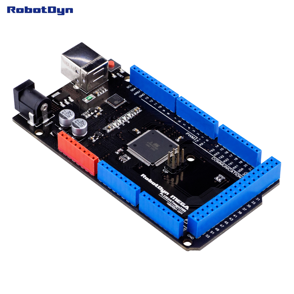obvody na arduino mega 2560
