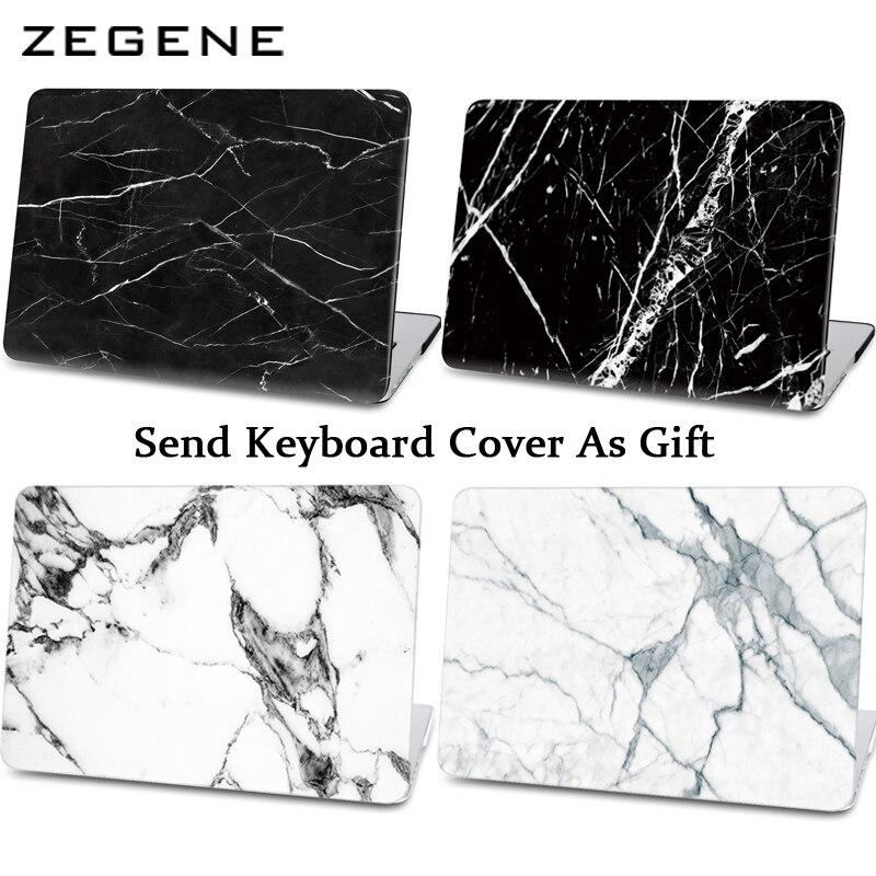 Marble Texture Case voor Apple Macbook Air Pro Retina 11 12 13 15 - Notebook accessoires