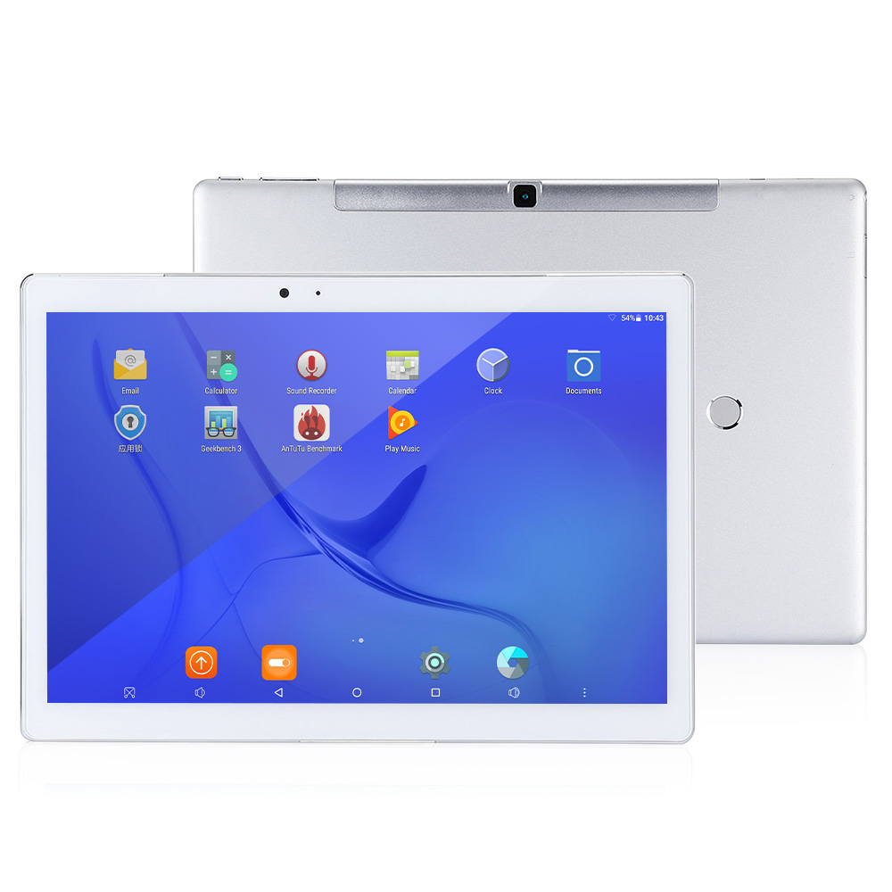 Teclast T10 Tablet PC 10.1 Inch IPS 2056*1600 Android 7.0 MTK8176 Hexa Core 1.7GHz 4GB RAM 64GB ROM WiFi Fingerprint Sensor Dual