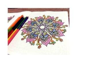 Image 4 - แรงบันดาลใจเซน50 Mandalasป้องกันความเครียด(ฉบับที่3),หนังสือระบายสีสำหรับผู้ใหญ่ศิลปะสร้างสรรค์หนังสือ