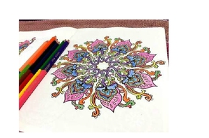 Image 4 - Inspiration ZEN 50 Mandalas Anti stress (volume 3), coloring books for adults art creative book