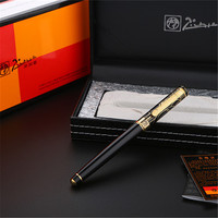 1pc/lot Picasso Roller Ball Pen 902 Pimio Picasso Ball Pens Engraving Gold Pen Gold Clip Luxury School Supplies 13.6*1.3cm