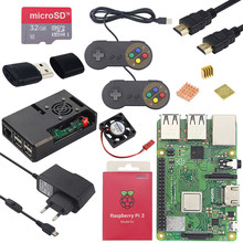 Asli Raspberry Pi 3 Model B Plus 1.4 GHz Quad-Core 64 Bit Prosesor 2.4G & 5G akses Internet Nirkabel Bluetooth 4.2 Raspberry Pi 3 Model B + Kit(China)