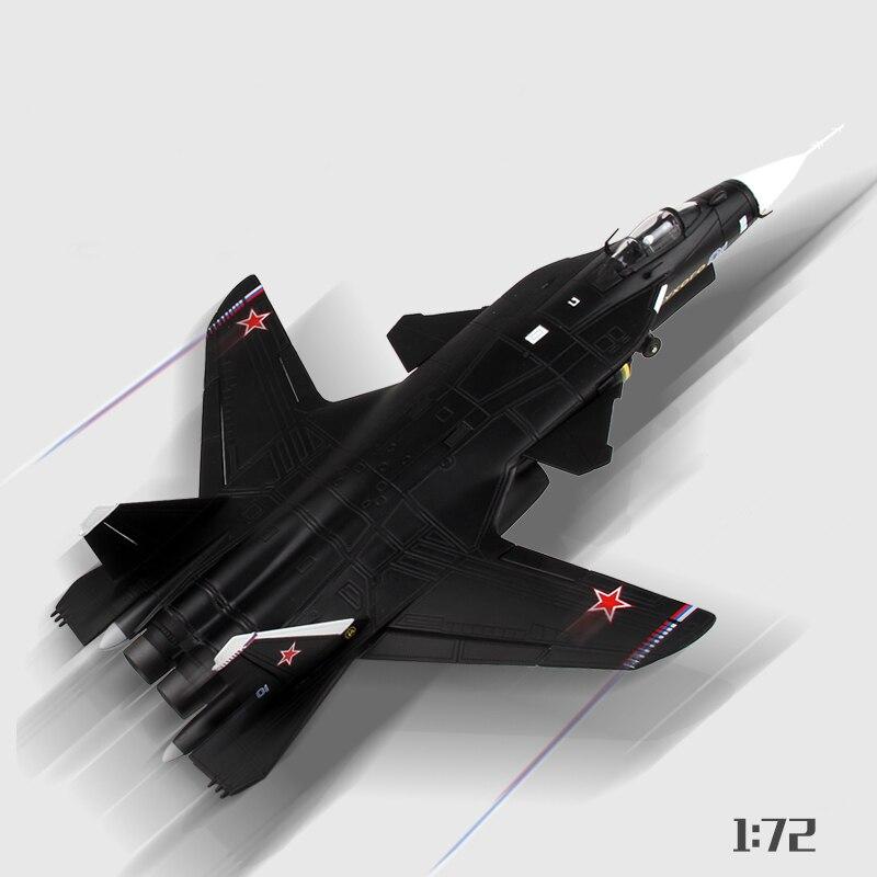 Oyuncaklar ve Hobi Ürünleri'ten Pres Döküm ve Oyuncak Araçlar'de Marka Yeni 1/72 Altın Kartal Fighter Model Oyuncaklar Rusya SU 47 Flanker Savaş Uçağı Diecast Metal Uçak Modeli Yetişkin Oyuncak hediye'da  Grup 3
