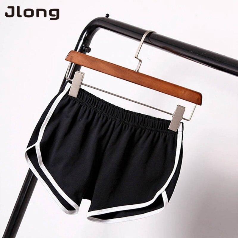 Summer Street Fashion Shorts Women Elastic Waist Short Pants Women All-match Loose Soft Cotton Casual Short Femme