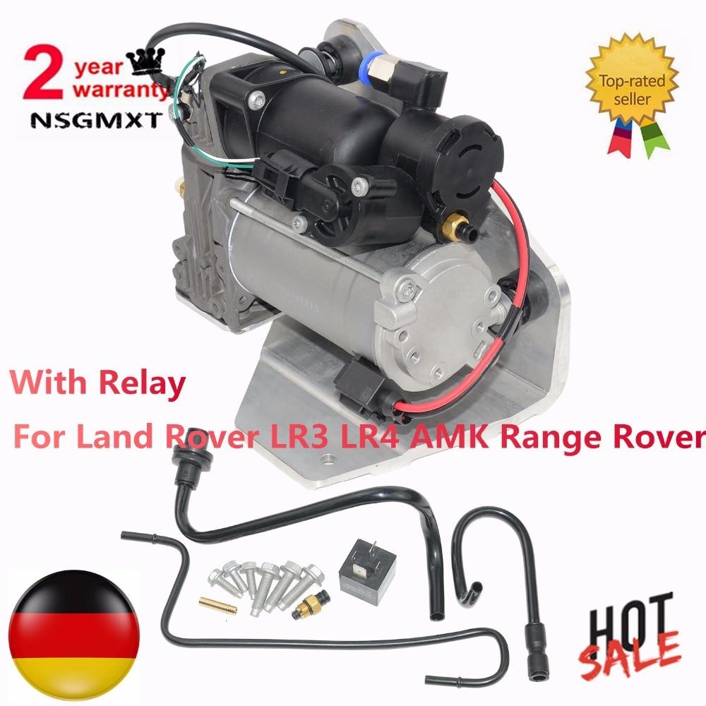 Suspension pneumatique Compresseur Adapte Pour Land Rover LR3 LR4 AMK Gamme Rover LR015303 LR023964 LR044360 6H2219G525BE