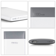Original Meizu M10 Power Bank 10000mAh External Battery Portable Powerbank Charging for Meizu Smartphone Poverbank for HTC 5V/2A