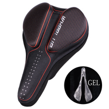 цена на Bicycle Saddle Seat Cover Soft Silicone GEL Pads Saddle MTB Road Bike Comfortable Cushion Cover Bicycle Parts Bike Accessories